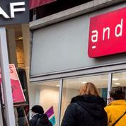 Le PDG de Vivarte compte vendre André et Naf Naf d'ici décembre
