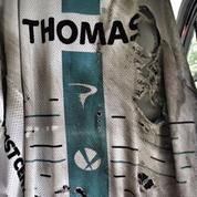 Tour de France : Geraint Thomas met en vente son maillot en lambeaux