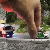 Google fait découvrir la plus grande maquette du monde à bord d'une voiture miniature