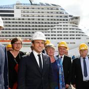 STX France attend le verdict d'Emmanuel Macron