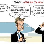 Le dessin d'Ixène : «Opération ''en même temps''»