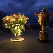 «Arthur», le trophée de Wimbledon, ne quitte plus Roger Federer