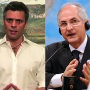 Venezuela : deux leaders de l'opposition emprisonnés