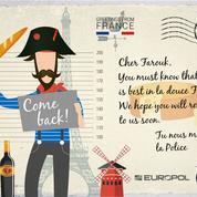 Europol envoie des cartes postales aux criminels les plus recherchés