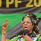 La femme du président zimbabwéen accusée d'avoir agressé une top model