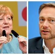 Allemagne : face au casse-tête des coalitions, les candidats entretiennent le flou