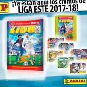 Neymar en couverture de l'album Panini de la saison de Liga
