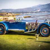 Concours d'élégance de Pebble Beach : le Best of Show à une Mercedes S de 1929