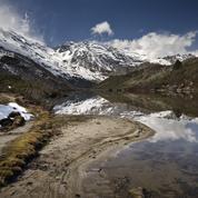 Les glaciers d'Asie fondent au ralenti