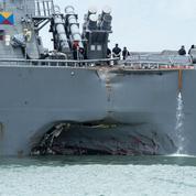 La marine américaine s'inquiète des collisions à répétition de ses navires