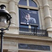 Rassemblement de soutien à Paris pour la libération du journaliste Loup Bureau
