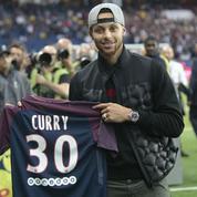 Curry, Batum, les Bleus… C'était la soirée du basket au Parc des Princes