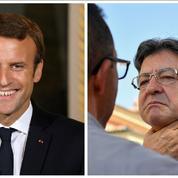 La critique des médias, seul terrain d'entente entre Macron et Mélenchon