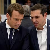En Grèce, Macron veut réinscrire l'Europe dans une perspective historique