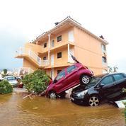 Ouragan Irma : au moins 300millions d'euros de dégâts