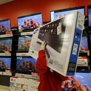 Le plongeon du marché des téléviseurs