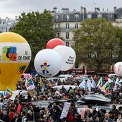 Code du travail: boeuf basque et airs de révolution guévariste dans le cortège parisien