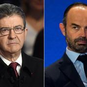 Entre Édouard Philippe et Jean-Luc Mélenchon, un duel sur fond d'estime réciproque