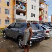 Saint-Martin: les eaux du cyclone stagnent toujours dans certains logements du quartier d'Orléans
