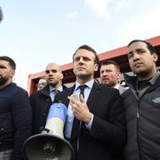 Emmanuel Macron revient en force chez Whirlpool à Amiens