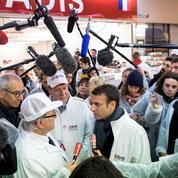 Macron incite les agriculteurs à s'unir pour mieux négocier avec les industriels