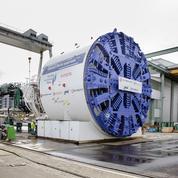 Un tunnelier géant pour le chantier du Grand Paris Express