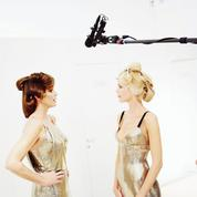 Cindy Crawford et Claudia Schiffer, deux tops en campagne
