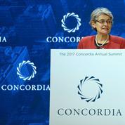 Irina Bokova, la directrice générale de l'Unesco, regrette le retrait des États-Unis
