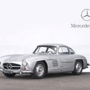 La collection de Mercedes France aux enchères