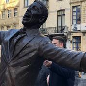 Bruxelles rend enfin hommage à Jacques Brel en érigeant une statue