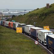 Un risque d'embouteillages monstres post-Brexit à Douvres