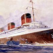 Le liner de légende Normandie est lancé le 29 octobre 1932