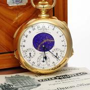 Sept montres de prix