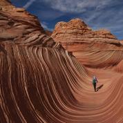 La pause photo du jour : dans le creux de «La Vague» en Arizona