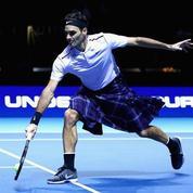 Même en kilt, Roger Federer bat Andy Murray