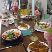 Manger gastronomique sur son lieu de travail à Paris