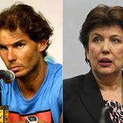 Roselyne Bachelot condamnée pour avoir accusé Rafael Nadal de dopage