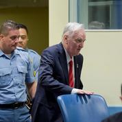 Perpétuité pour Ratko Mladic, le «boucher des Balkans»