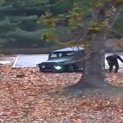 Corée du Nord : les images impressionnantes de la fuite d'un déserteur sous les balles