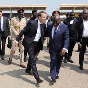 Au Ghana, Macron visite des start-up africaines