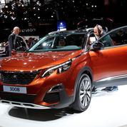 Peugeot mange du lion en France grâce au succès du 3008