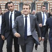 Autour du président Macron, une sécurité renforcée pour assurer sa protection rapprochée