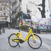 Vélo sans borne : le géant chinois Ofo arrive à Paris