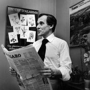 Jean d'Ormesson: «C'est une tâche exaltante, mais difficile de diriger Le Figaro »