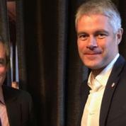 Présidence LR : à trois jours de l'élection, Wauquiez s'affiche avec Fillon