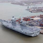 La reine Elizabeth lance «son» porte-avions