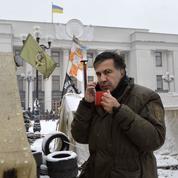 Saakachvili fait la révolution en Ukraine
