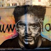 À Calais, une fresque en hommage à Johnny Hallyday vandalisée
