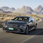 Lexus LS 500h: le grand luxe vu du Japon
