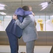 Magic Johnson et Isiah Thomas se réconcilient et fondent en larmes